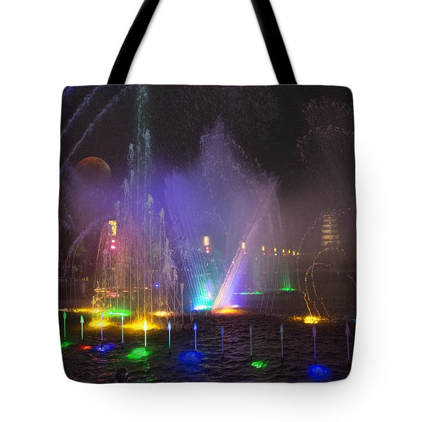 Lights Of A Thousand Wishes Tote Bag