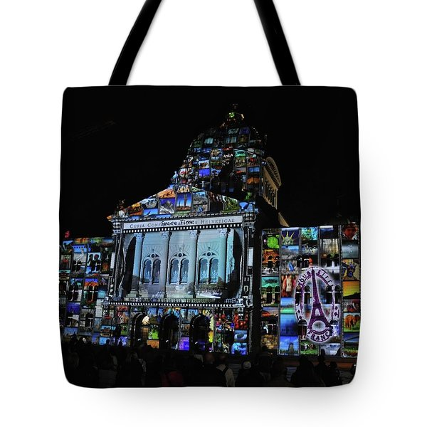 Lights Of Bern Tote Bag