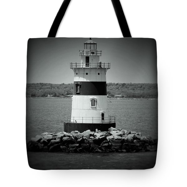 Lights Out-bw Tote Bag
