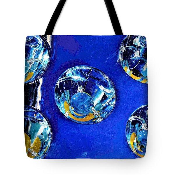 Lights Under Glas Tote Bag
