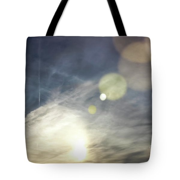 Tote Bag featuring the photograph Lightshow by Colleen Kammerer