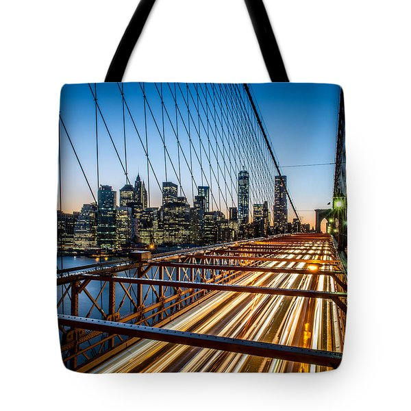 Lightwave Tote Bag