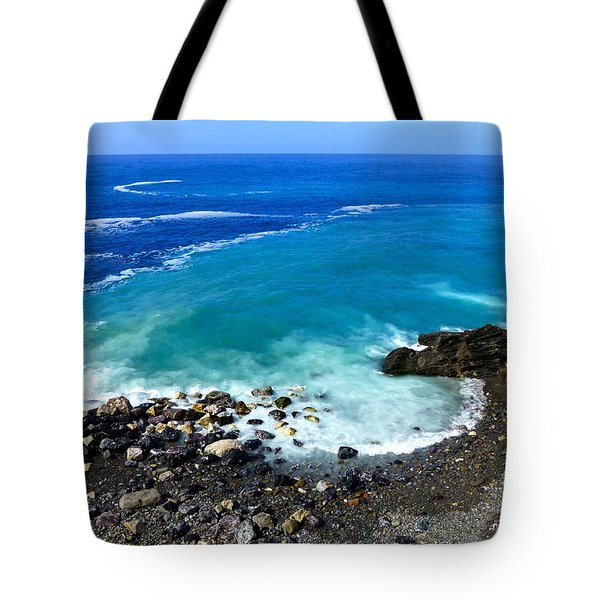 Ligurian Coastline Tote Bag