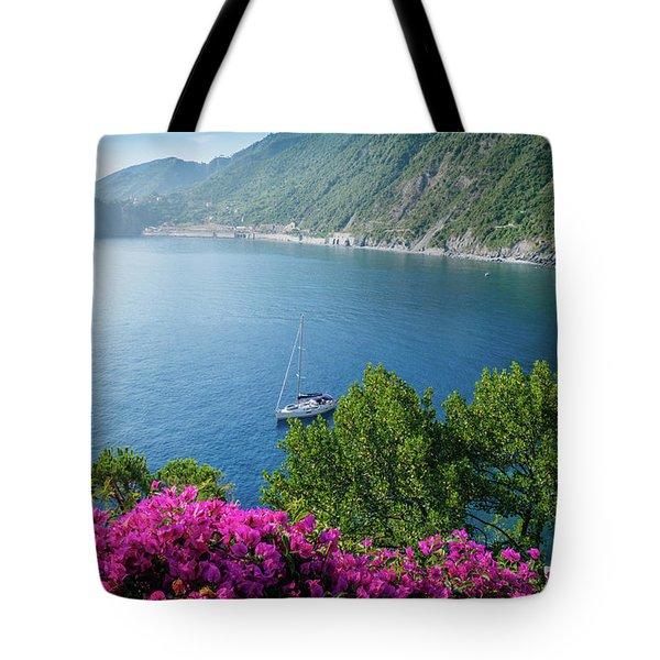 Ligurian Sea, Italy Tote Bag