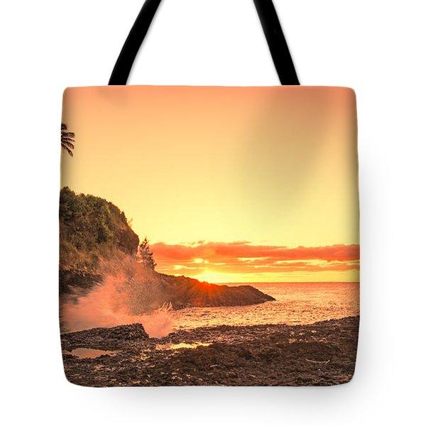 Lihu'e Sunrise Tote Bag
