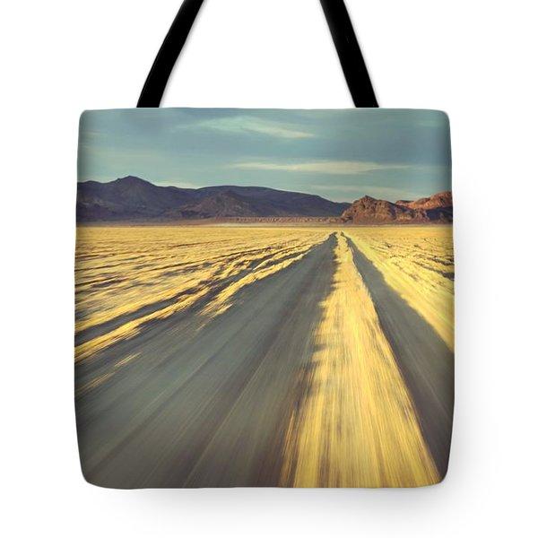 Like A Band Of Gypsies We Go Down The Desert Tote Bag