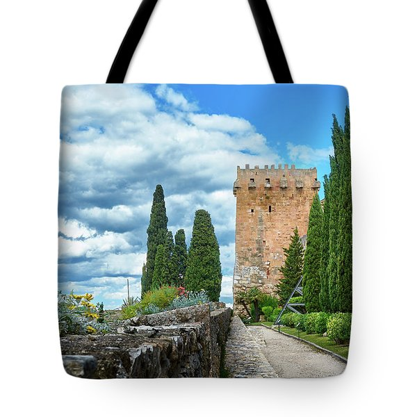 Like A Fortress In The Sky Tote Bag