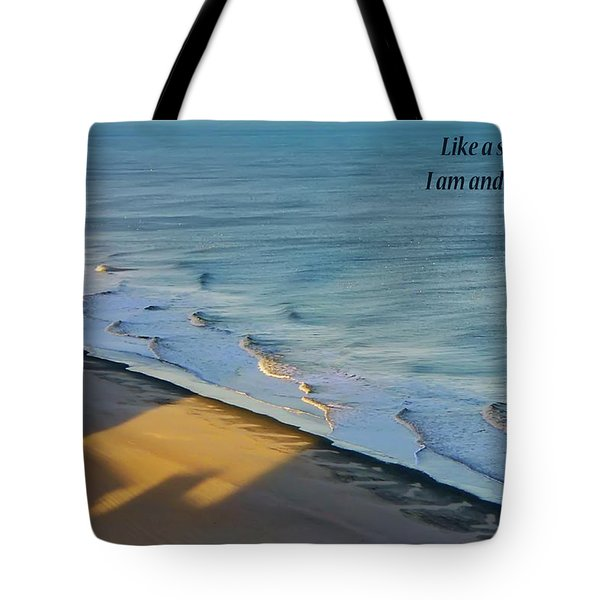 Like A Shadow Tote Bag by Rhonda McDougall