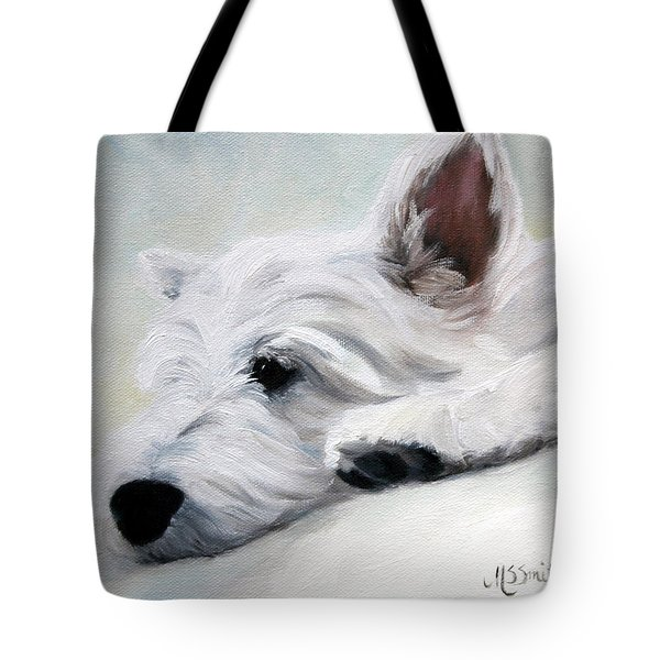 Like An Angel Tote Bag by Mary Sparrow