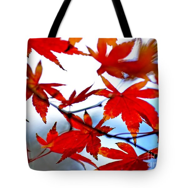 Like Autumn Butterflies In The Breeze Tote Bag by Kaye Menner
