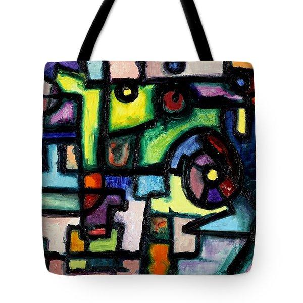 Like Clockwork Tote Bag by Regina Valluzzi