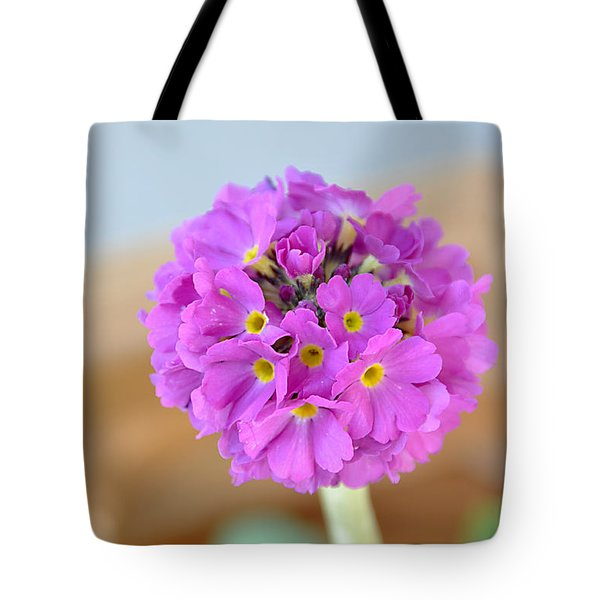 Single Pink Flower Tote Bag