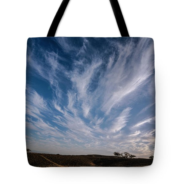 Like Feathers In The Sky Tote Bag