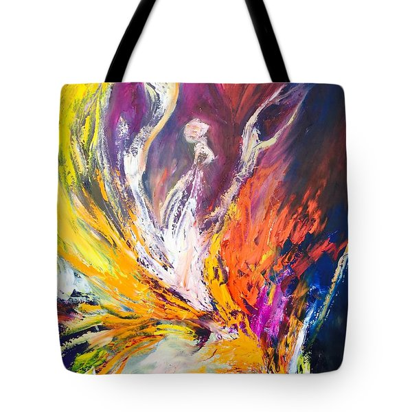 Like Fire In The Wind Tote Bag