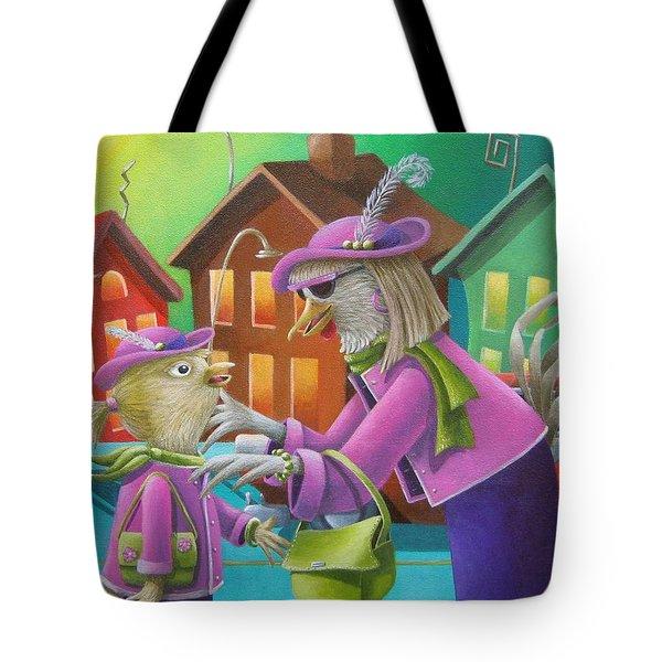 Like Mother Like Daughter Tote Bag by Eva Folks