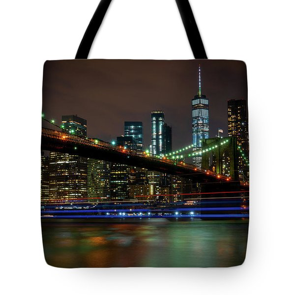 Tote Bag featuring the photograph Like Ships In The Night by Chris Lord
