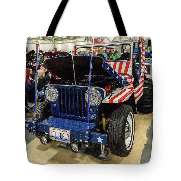 Tote Bag featuring the photograph Lil Ugly by Randy Scherkenbach