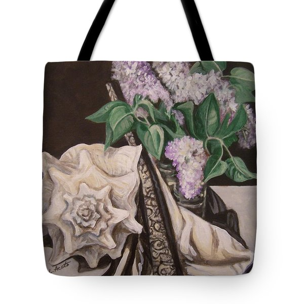 Lilac And Lingerie Tote Bag