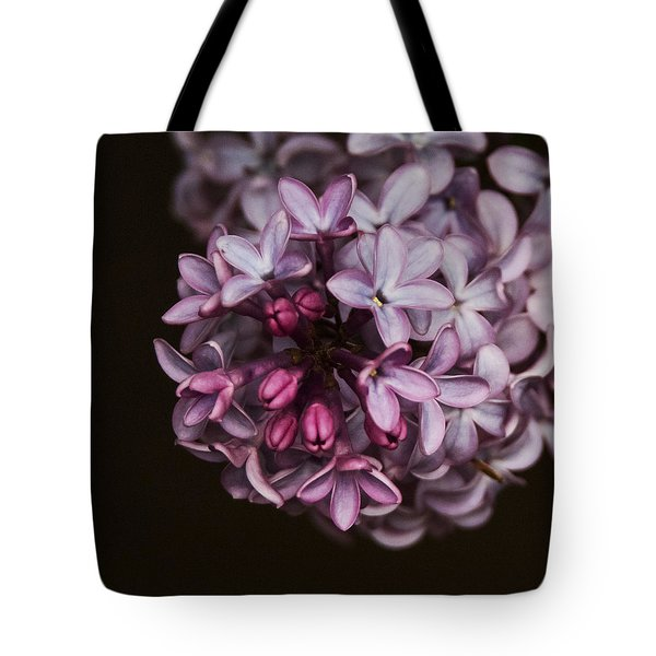 Lilac Tote Bag by Angie Vogel
