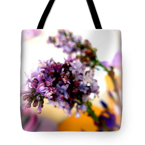 Lilac Beauty Tote Bag