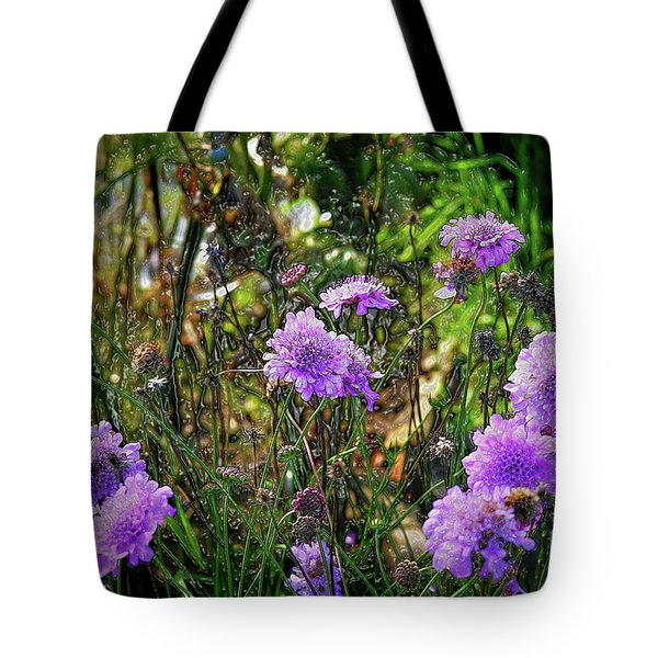 Lilac Carved Jellytot Tote Bag
