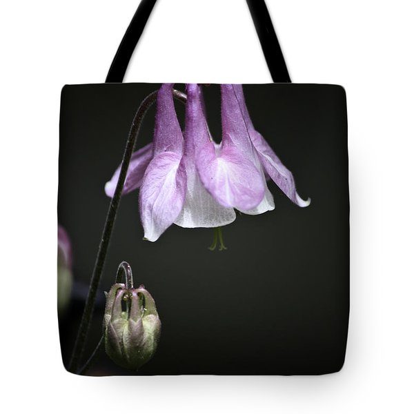 Lilac Columbine 2 Tote Bag