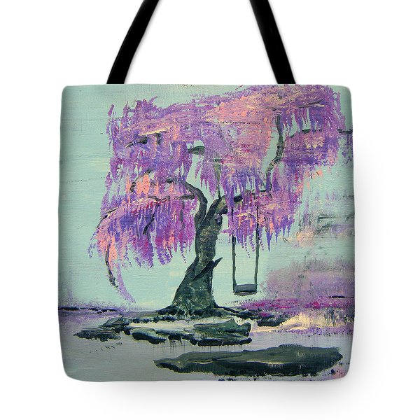 Lilac Dreams- Prince Tote Bag