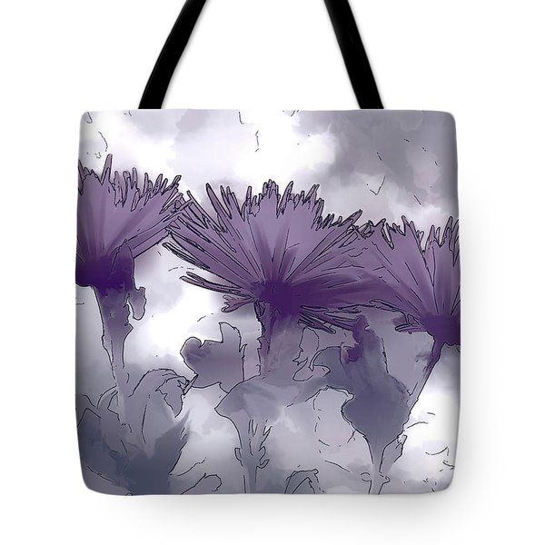 Lilac Fancy Tote Bag