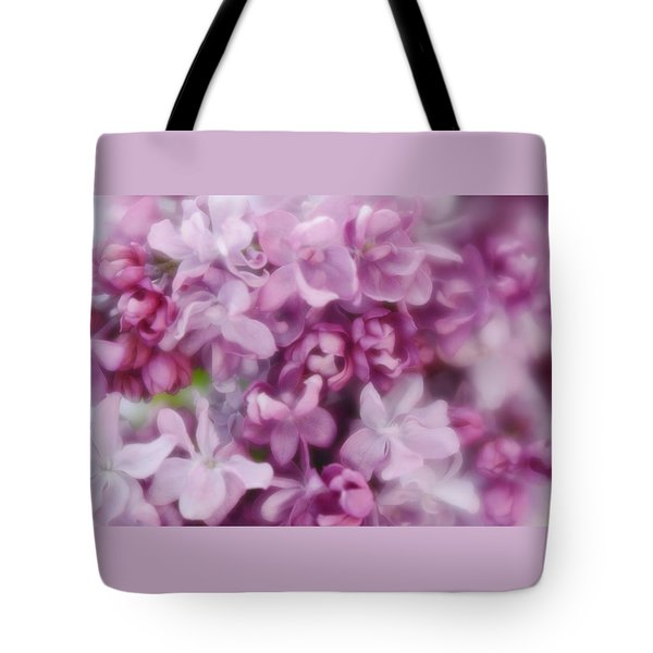 Tote Bag featuring the photograph Lilac - Lavender by Diane Alexander