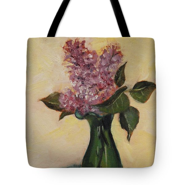 Lilac Reflections Tote Bag
