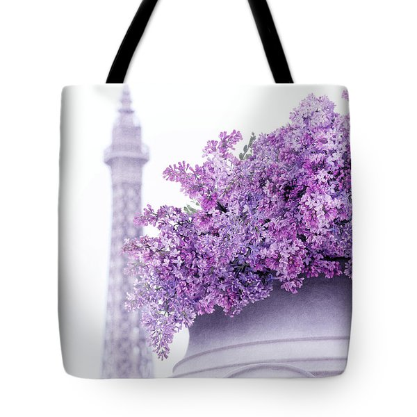 Lilac Tales Tote Bag by Iryna Goodall