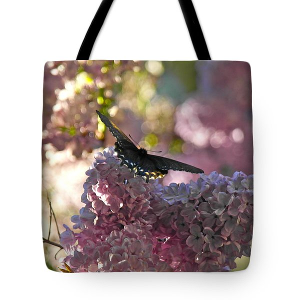 Lilac World Tote Bag