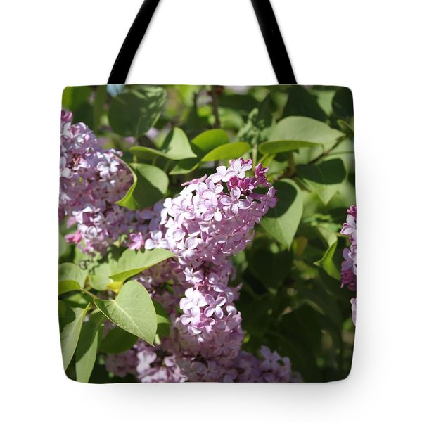 Tote Bag featuring the photograph Lilacs 5544 by Antonio Romero