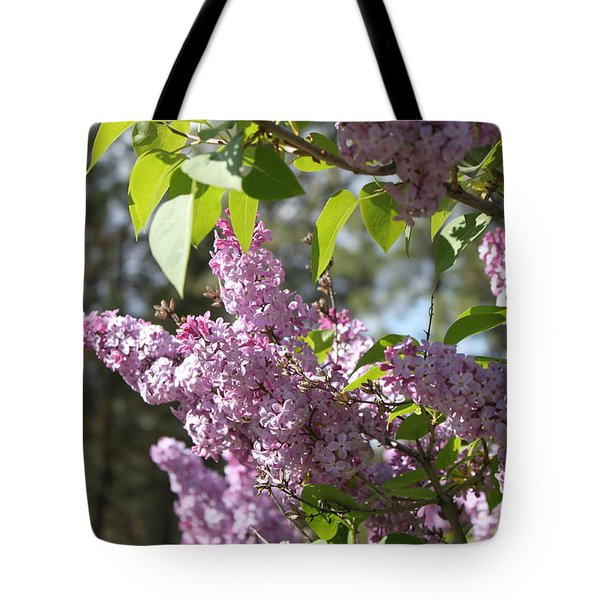 Tote Bag featuring the photograph Lilacs 5545 by Antonio Romero