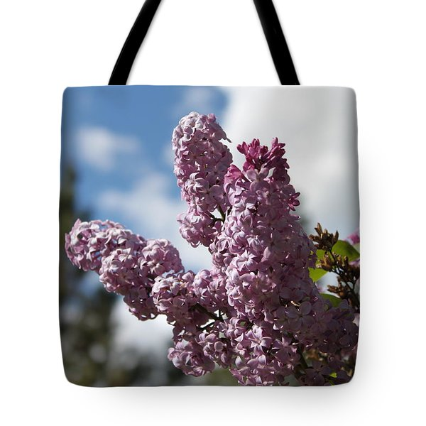 Tote Bag featuring the photograph Lilacs 5547 by Antonio Romero