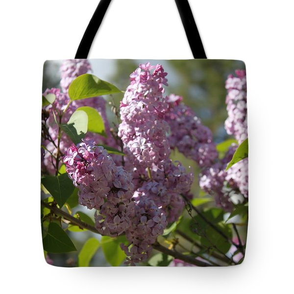 Tote Bag featuring the photograph Lilacs 5548 by Antonio Romero