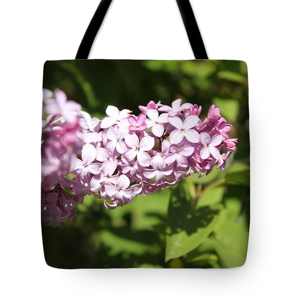 Tote Bag featuring the photograph Lilacs 5550 by Antonio Romero