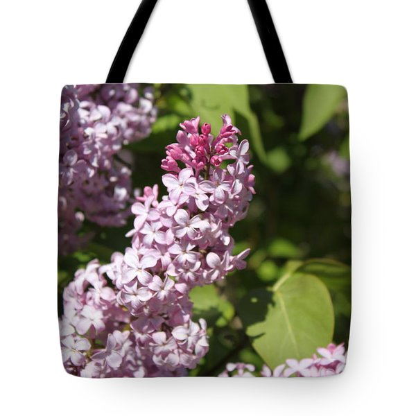 Tote Bag featuring the photograph Lilacs 5552 by Antonio Romero