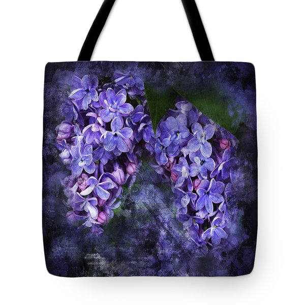 Lilacs Frenchy Scruff Tote Bag