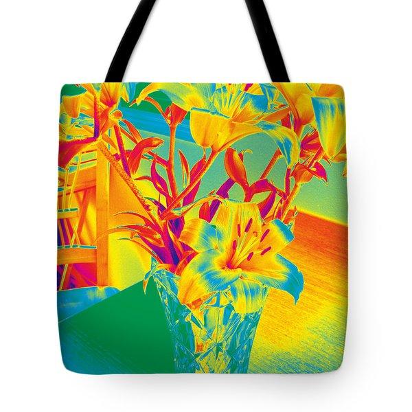 Lilies #3 Tote Bag