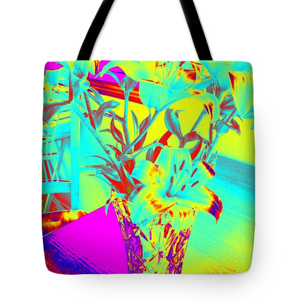 Lilies #4 Tote Bag