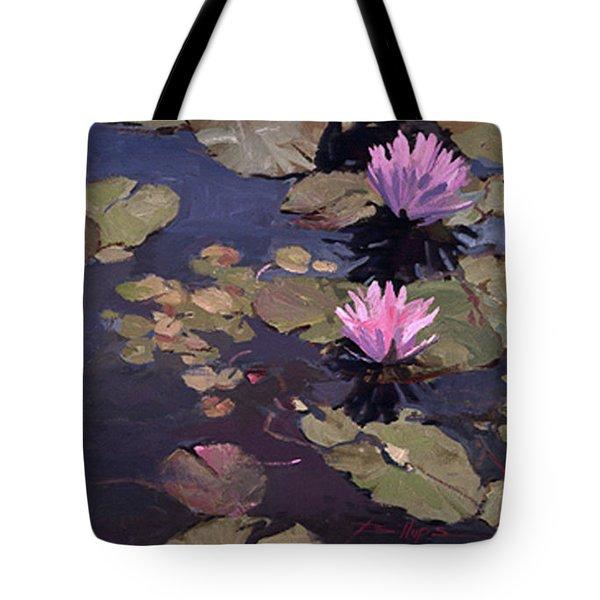 Lilies II - Water Lilies Tote Bag