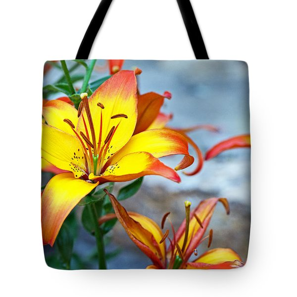 Lilies Of The Field #1 Tote Bag
