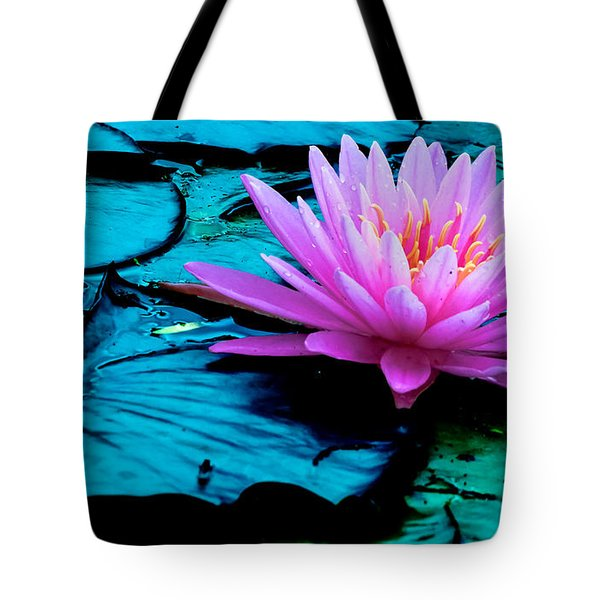 Tote Bag featuring the photograph Lilies Of The Field by Brian Stevens