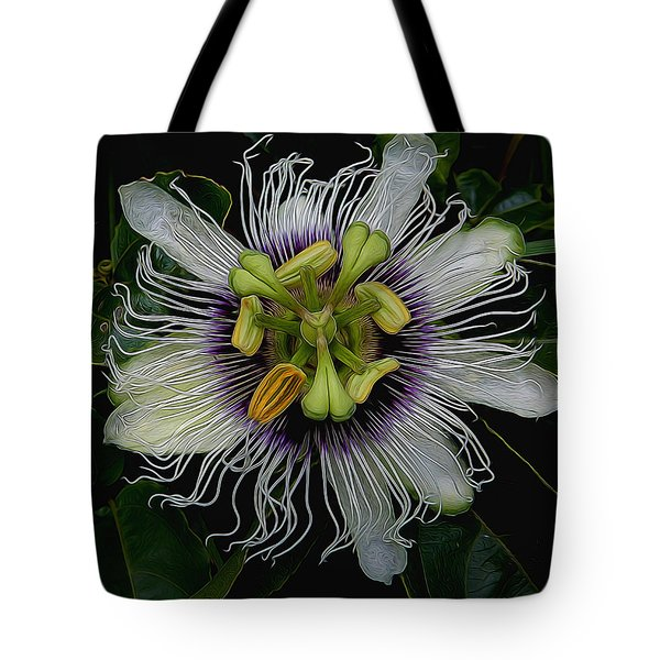 Lilikoi Passion Fruit Tote Bag by Pamela Walton