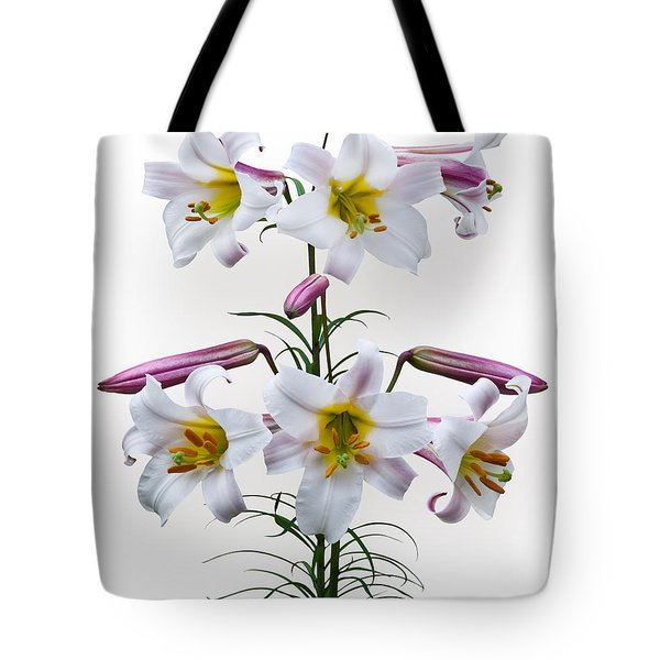 Lilium Regale Tote Bag by Jane McIlroy