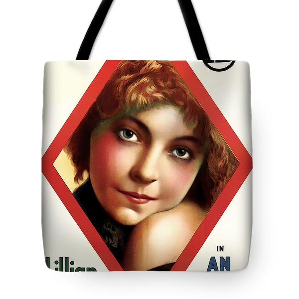 Lillian Gish In An Indian's Loyalty 1913 Tote Bag