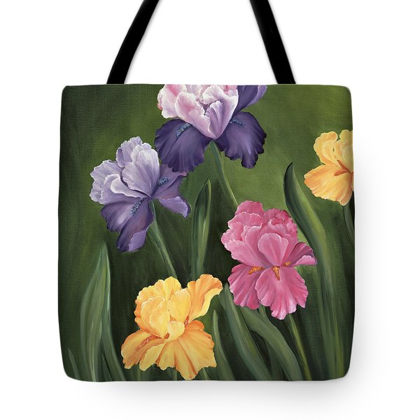 Lill's Garden Tote Bag by Carol Sweetwood