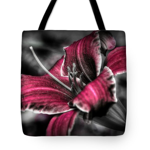 Tote Bag featuring the photograph Lilly 3 by Michaela Preston