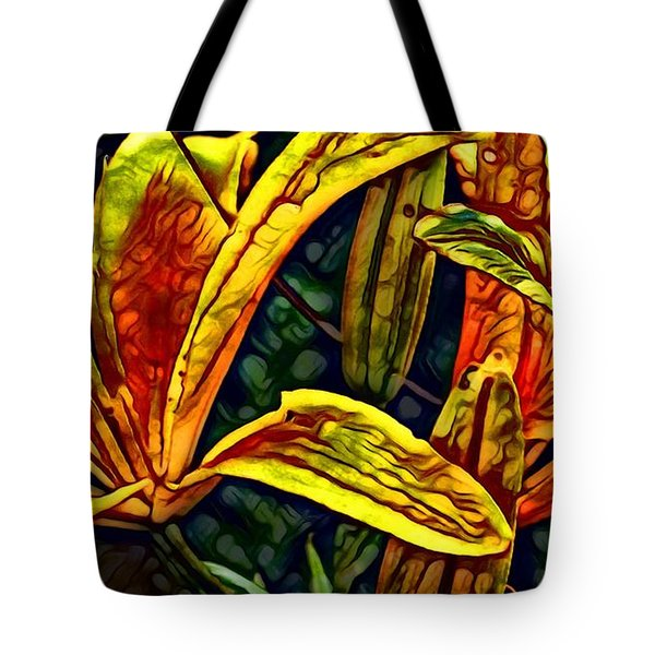 Lilly Fire Tote Bag